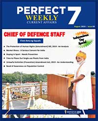 (Download) Dhyeya IAS Perfect - 7 Weekly Magazine - August 2019 (Issue - 4)