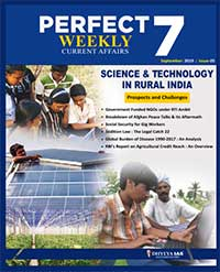 (Download) Dhyeya IAS Perfect - 7 Weekly Magazine - September 2019 (Issue - 5)