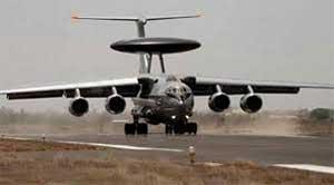 'एयरबॉर्न अर्ली वार्निंग एंड कंट्रोल सिस्टम' - AWACS) (Phalcon Airborne Warning and Control Systems)