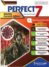 (Download) Dhyeya IAS Perfect - 7 Weekly Magazine - April 2020 (Issue - 2)