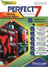 (Download) Dhyeya IAS Perfect - 7 Weekly Magazine - April 2020 (Issue - 3)