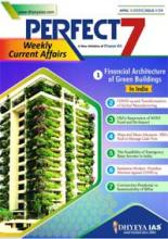 (Download) Dhyeya IAS Perfect - 7 Weekly Magazine - April 2020 (Issue - 4)