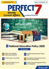 (Download) Dhyeya IAS Perfect - 7 Weekly Magazine - August 2020 (Issue - 2)