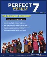 (Download) Dhyeya IAS Perfect - 7 Weekly Magazine - February 2020 (Issue - 1)