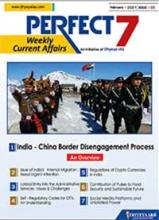 (Download) Dhyeya IAS Perfect - 7 Weekly Magazine - February 2021 (Issue - 5)