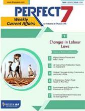 (Download) Dhyeya IAS Perfect - 7 Weekly Magazine - May 2020 (Issue - 4)