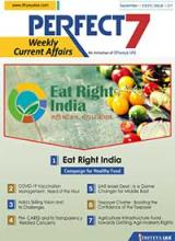 (Download) Dhyeya IAS Perfect - 7 Weekly Magazine - September 2020 (Issue - 1)