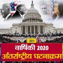 वर्ष 2020 के महत्वपूर्ण अंतर्राष्ट्रीय घटनाक्रम (Important International Events of the year 2020) : ध्येय रेडियो (Dhyeya Radio) - ज्ञान की डिजिटल दुनिया